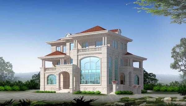别墅外观1 - 外观 - 泉州市永鑫建筑装饰设计有限
